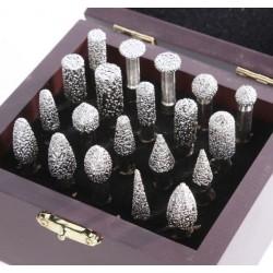 Diamond Brazed Burrs for Granite Marbler 20