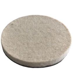 Ø115 Wool Felt With Plastic Base